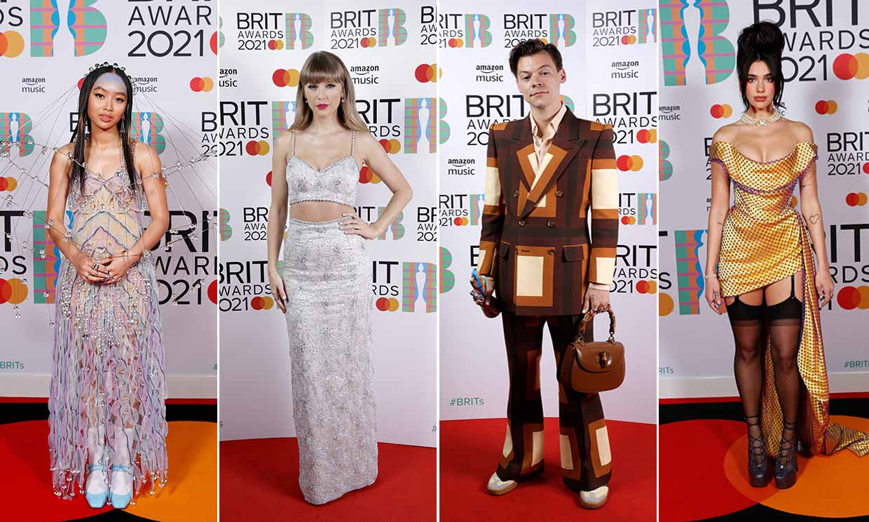 The Hottest Looks From The 2021 BRIT Awards